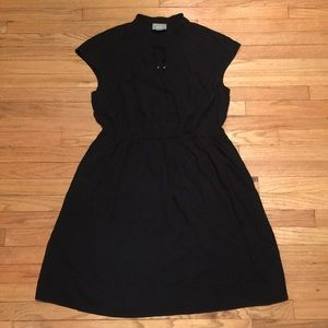 Anthropologie Maeve black casual dress - Large